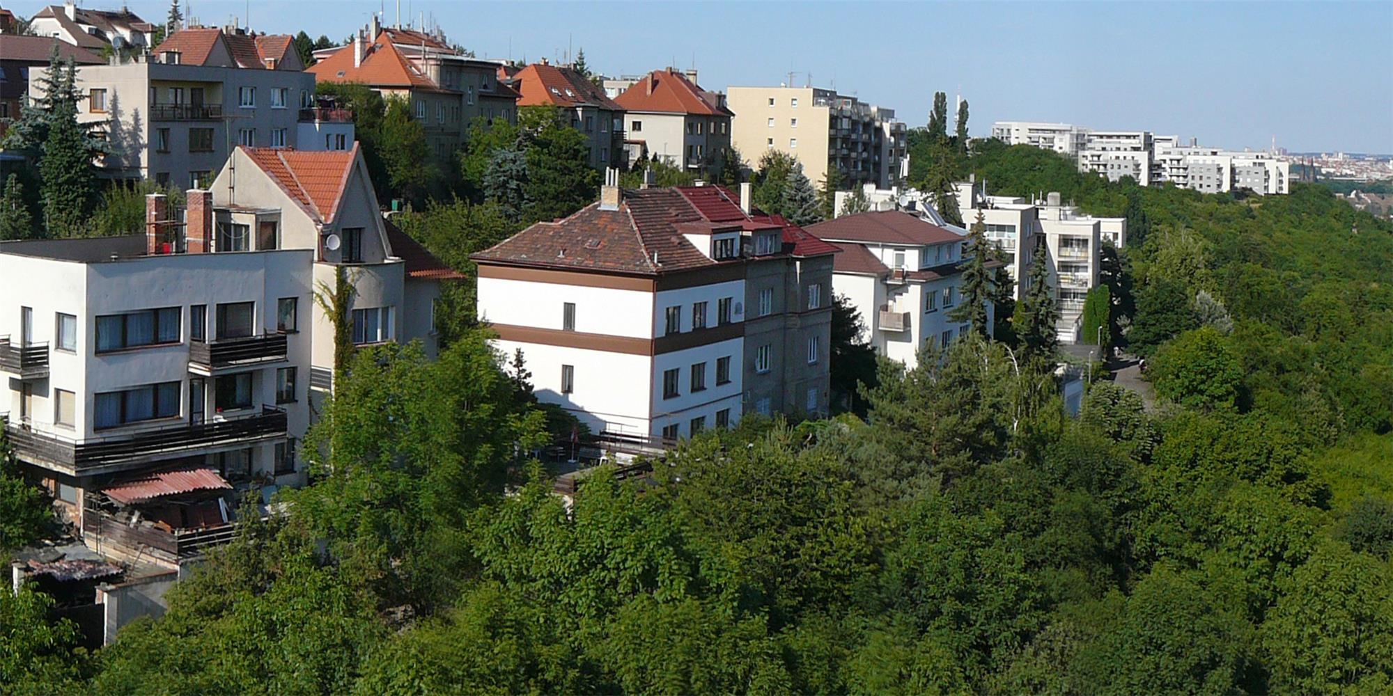 Výhled z bytu A 10
